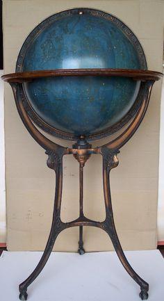 Antique Celestial Globe