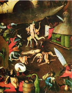 Hieronymus Bosch. The Last Judgement (detail)