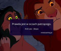 #cytaty #Disney #cytatyzbajek #prawda Polish Memes, Motto, Sentences, Maine, Baby Boy, French, Inspired, Words, Quotes