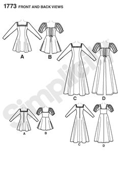 Simplicity Pattern 8200 Dr Who cosplay//costumeWomens size 14-22