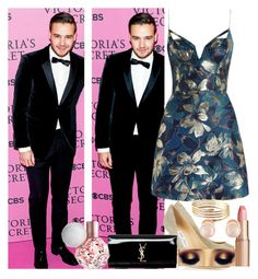 """""""Red Carpet with Liam"""" by onedirectionbabe67 ❤ liked on Polyvore featuring moda, Zimmermann, Jimmy Choo, Yves Saint Laurent, Charlotte Tilbury i Kenneth Jay Lane"""