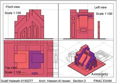 Sulaf Sami Halasehالرسم والاظهار المعماري (Arch. Drawing & Representation