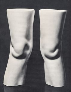 """""""Claes Oldenburg (b.1929), London Knees (1966), plastic, 14.75 inches (height). Via Pictify. """""""