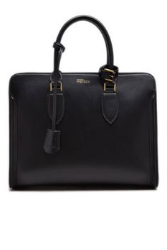 This structured Alexander McQueen tote is CEO-worthy