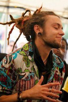 love hair eyes piercing perfect hippie hipster omg boy peace smile man rasta guy dreads dreadlocks rings plug Tunel