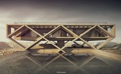 "House no. 145  ""Lele"".Architecture, modelling, rendering and post-production: Adam Spychała"