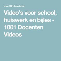 Video's voor school, huiswerk en bijles - 1001 Docenten Videos