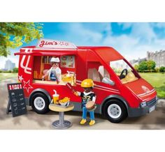 Additional tips Playmobil City Food Truck for Christmas Gifts Idea Promotion Playmobil City, Mobile Food Trucks, Ice Cream Cart, Lego Friends, Christmas Toys, City Life, Rue, Games For Kids, Hot Dogs