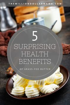 Learn about the 5 surprising health benefits of grass fed butter. Not only does it taste incredible, it's good for you in so many ways! Brain Healthy Foods, Healthy Eyes, Benefits Of Vitamin A, Health Benefits, Health Vitamins, Grass Fed Butter, Weird Food, Essential Fatty Acids, Healthy Lifestyle Tips