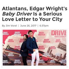 """16 Likes, 2 Comments - Midtown Art Cinema (@midtownartcinema) on Instagram: """"We love #Atlanta, you love Atlanta, and #EdgarWright loves Atlanta. Celebrate our city today and…"""""""