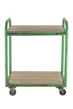 Charming Wood & Metal Cart