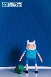 "Amigurumi Pattern of Finn from ""Adventure Time"