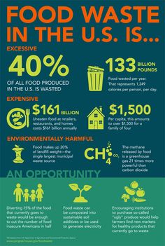 What is the cost of food waste? This infographic shows the issues and costs of food waste, hunger, and environmental impact. We work to and in Food Tracker App, Plastik Recycling, Holiday Recipes, Great Recipes, Healthy Food Alternatives, Waste Reduction, Food Insecurity, World Hunger, Food System