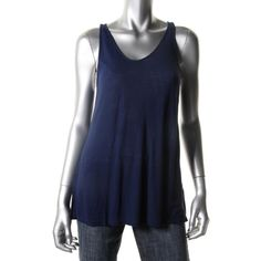 Fluxus Womens Ribbed Jersey Tank Top