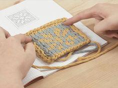 DIY-Anleitung: Wie strickt man das Jacquardmuster? / DIY tutorial: how to knit the jacquard pattern via DaWanda.com