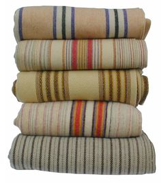 I want stacks of Welsh blankets