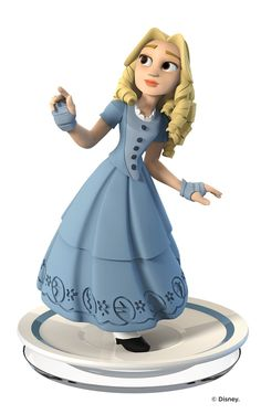 Amazon.com: Disney Infinity 3.0 Edition: Alice Figure - Not Machine Specific: Disney Infinity 3.0 Edition: Disney 1 Figure: Video Games