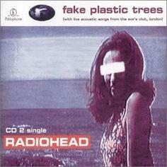 Radiohead Fake Plastic Trees CD 2 Album Cover