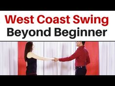 West Coast Swing | Beyond Beginner - YouTube Country Swing Dance, West Coast Swing Dance, Swing Quotes, Dancing Baby, Lindy Hop, Boogie Woogie, Dance Lessons, Dance Class, Dance Videos