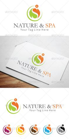Nature & Spa Logo Templates #GraphicRiver Nature & Spa Elegant and modern logo template this Logo template is suitable for Beauty salon, Yoga, Wellnes and Spa resort companies. 100% customizable and resizable Easy to edit with Colours & Text File ncluded: Ai, EPS, PSD Color mode: CMYK Free font used: .dafont /apple-garamond.font .fontsquirrel /fonts/Aller Created: 22August13 GraphicsFilesIncluded: PhotoshopPSD #VectorEPS #AIIllustrator Layered: Yes MinimumAdobeCSVersion: CS Resolution…