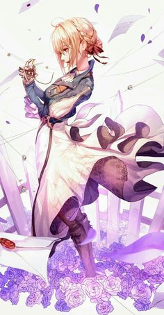 Zerochan has Violet Evergarden anime images, wallpapers, fanart, cosplay pictures, and many more in its gallery. Manga Anime, Art Manga, Manga Font, Violet Evergreen, Violet Garden, Character Art, Character Design, Violet Evergarden Anime, Fanart