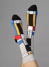 bruno banani Modern Art - Socks Black