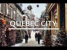 Travel Guide to Quebec City In this travel video guide to Quebec City, I travel around Quebec City including its historic Old Town (a UNESCO World Heritage Site), stop in at the famed Ice Hotel where visitors spend the night on ice beds, and explore the Winter Carnival, the biggest winter carnival in the world that attracts over 600,000 people a year.