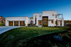 Image result for modern house stucco and wood