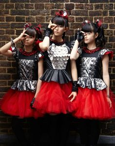 BABYMETAL japanese idol metal jpop j-pop pop heavy asian oriental girl girls 1bmetal visual kei heavy wallpaper background