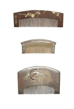 Undescribed combs from Bonhams auctions - sold.