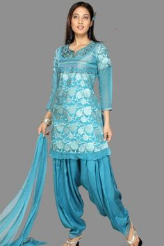 Patiala Salwar Kameez - if it were not a total cultural appropriation, this would totally be mine.