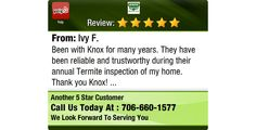 Been with Knox for many years. They have been reliable and trustworthy during their annual...