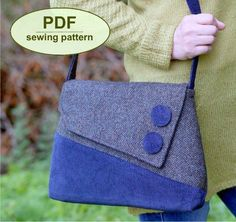 Sedgeford Bag - PDF sewing pattern from Charlie's Aunt Designs