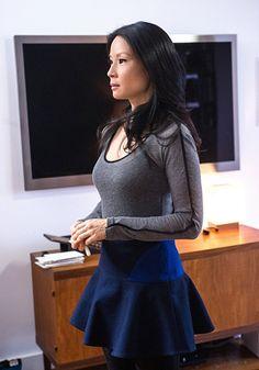 Lucy Liu in Elementary.