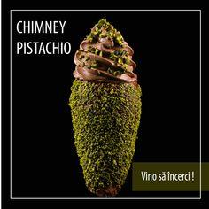Înghețată artizanală ciocolata ☑️ fistic ☑️ Chimney Cake, Pistachio, Bakery, Good Food, Menu, Pistachios, Menu Board Design, Healthy Food, Yummy Food