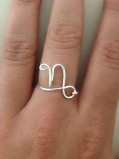 Zodiac Sign Ring-Capricorn on Etsy, $9.00