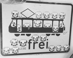Party train  #sticker #streetart #pandakratie #stickertrades #vivelibre #urbanphoto #pandaismus #propapanda #streetart #spring #lebefrei #stickerart #stickertrade #pandakratie #stickerporn #stickerslap  #stickerartist #slaps #streetart #stickergalerie #stickerartgermany #aufkleberkunst #stickers #stickerporn #germanystreetart #inthestreets