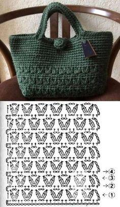 Escolha e copie: 18 Modelos de bolsa Sommertasche ⋆ - Pontos stricken Escolha . - Escolha e Kopie: 18 Modelos de Bolsa Summer Bag ⋆ – Pontos stricken Escolha e Copie: 18 - Crochet Tote, Crochet Handbags, Crochet Purses, Crochet Crafts, Crochet Stitches, Knit Crochet, Crochet Patterns, Crochet Summer, Crochet Squares