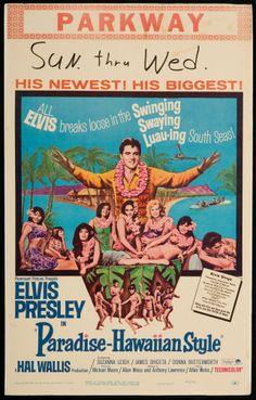 ELVIS MONTH Day 21 Paradise, Hawaiian Style (1966)