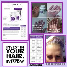 A simple pill a day can grow out hair, make nails stronger and longer and certainly helps your skin to glow. Hair Skin Nails Vitamins, Hair Vitamins, Fm Cosmetics, Cosmetics & Perfume, Hair Pigmentation, Growing Out Hair, Perfume Quotes, Beauty Formulas, Growing Strong