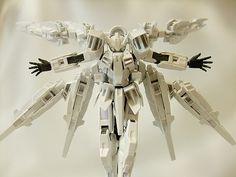 セファーラジエル Gundam Model, Mobile Suit, Wings, Collection, Highlight, Feathers, Feather, Ali