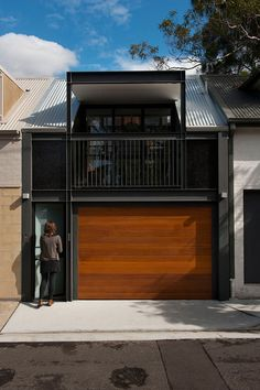 Australian firm Carter Williamson Architects, designed the renovation of a 1900's terrace house in Sydney, Australia.