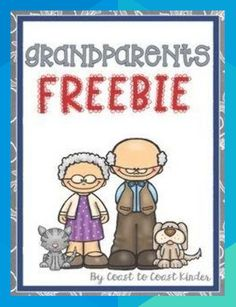 Grandparents Are Free 4 pages for Grandparents Day or any family unit. 1 Cut and glue about Grandpa's likes. 1 Cut and glue about Grandma's likes. 1 Color by number Grandpa page. 1 Color by number Grandma page. You could add Bible Verse for Sunday School. Grandparents Day Preschool, Grandparents Day Cards, National Grandparents Day, Diy Mothers Day Gifts, Grandparent Gifts, Preschool Classroom, Preschool Crafts, Quotes Girlfriend, Planning School