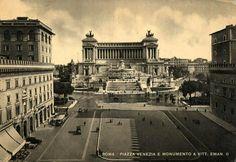 Roma - Piazza Venezia e Monumento a Vittorio Emanuell II