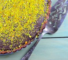 passover chocolate pistachio tart #passover #glutenFree #Pistachio #chocolate #kosher #recipe