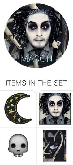 """""""(s)hes my horror baby"""" by pvriscvlt ❤ liked on Polyvore featuring art, icon, motionlessinwhite and Devinsola"""