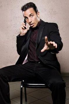 Sebastian Maniscalco... Favorite New Comedian! Soooooooooo Funny!  Makes my hubby laugh which makes me happy!  :-)