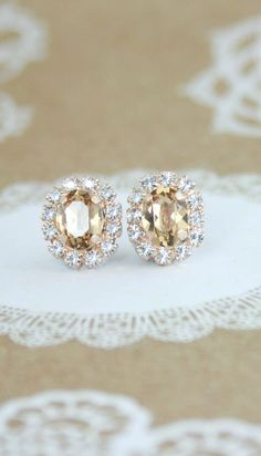 Champagne Wedding Jewelry-2