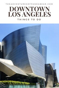 What to do in DTLA while you're waiting for the Infinity Mirrored Room at The Broad | Downtown LA, Museums in Downtown LA, Walt Disney Concert Hall, The Broad, Museum of Contemporary Art, Restaurants in Downtown LA, Little Tokyo, Grand Central Market, The Last Bookstore