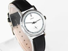 Pobeda Watch Soviet Mechanical Watches Pobeda Mens Watch Vintage Watches Pobeda Made In USSR 80's